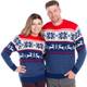 Winter Wonderland Couple's Ski Sweater