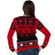 Women's Ottawa Senators Ugly Christmas Sweater NHL (Back)
