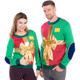 Christmas Present with Bow Ugly Sweater - Men or Women