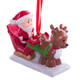 Little People Fisher Price Ornament with Santa and Reindeer