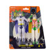 Bendable Batman and Robin Figures Packaged View