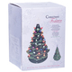 "16"" Green Light-Up Ceramic Christmas Tree Boxed View"