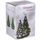 Battery-Operated Ceramic Christmas Tree Boxed View