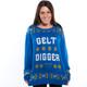 Gelt Digger Hanukkah Sweater