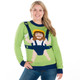 Baby Jesus Ugly Sweater  - Women Front