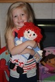 "16"" Raggedy Ann Doll by Aurora"