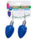 Christmas Bulb Earrings Blue