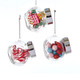 Candy in a Jar ornament collection