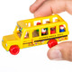 World's Smallest Fisher Price School Bus in Hand