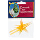 Gold Replacement Tree Topper Star Pegs, Pack of 2