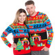 Twas The Night Before Christmas Ugly Sweater - his and hers