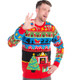Twas The Night Before Christmas Ugly Sweater - men