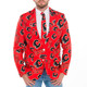 Ugly Calgary Flames Jacket and Tie NHL Licensed