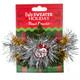 Ugly Holiday Tinsel Bracelet Santa package