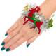Ugly Holiday Tinsel Bracelet reindeer