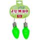 Lotsa Lites Jumbo Flashing Bulb Earrings -Green Colour