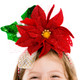 Festive Poinsettia Headband 1
