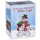 "8"" Snowman with Bubble Glitter Light Packaged View"