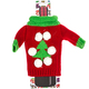 Red with Tree Wine Bottle Ugly Sweaters