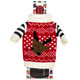 Red Reindeer Wine Bottle Ugly Sweaters