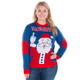 Festive Finger Ugly Christmas Sweater Women