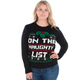 On the Naughty List Sweater for Her