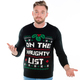 On the Naughty List Sweater for Him
