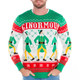 Elf Ginormous Sweater Close