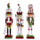 "18"" Red, Green and White Hollywood Nutcrackers"