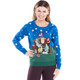 Naughty Nativity Scene Christmas Sweater