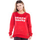 Women's Santa Baeby Ugly Sweater - front