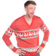 Men's Reindeer Conga Ugly Sweater