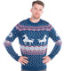 Climax Reindeer Ugly Christmas Sweater Men