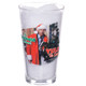 Christmas Vacation Yule Be Sorry Pint Glass Front View