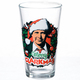 Christmas Vacation Merry Clarkmas Pint Glass Front View