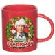 Christmas Vacation Merry Clarkmas 15 oz Boxed Ceramic Mug Front View