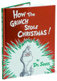 How the Grinch Stole Christmas. Foil Cover. By Dr. Seuss.