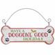 Festive Dog Bone Ornaments Have a Doggone Good Holiday