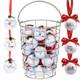 Funny Phrases Christmas Golf Ball Ornaments