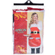 Mrs. Claus Christmas Apron with Pockets