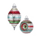 Early Years Retro Glass Multi Reflect Ornaments - out of box