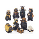 9 Piece Bear Nativity Set