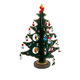 Wooden Tree With Miniature wooden Ornaments Set (25 pc)