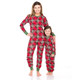 Holiday Moose Family Jammies - Mom and Daughter