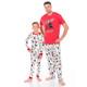 Hockey Night in the Wild Family Pajamas - family