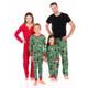 Family Canadian Winter Pajama Set