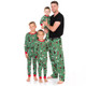 Northern Winter Family Pajamas - dad and the boys