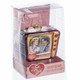 I Love Lucy 60th Anniversary Glass TV Ornament package