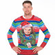 Child's Play Chucky Ugly Christmas Sweater Faux Real - Front