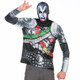 KISS The Demon Ugly Christmas Long-Sleeve Tee Faux Real - Mask Horns *not yet available